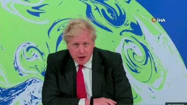 """Son dakika haberleri: - İngiltere Başbakanı Johnson: """"İklim hedeflerinin belirlenmesine öncülük edeceğiz"""""""