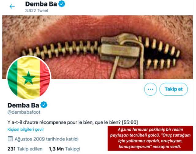 Demba Ba'nın Başakşehir'den ayrılışının perde arkasından oruç yasağı çıktı