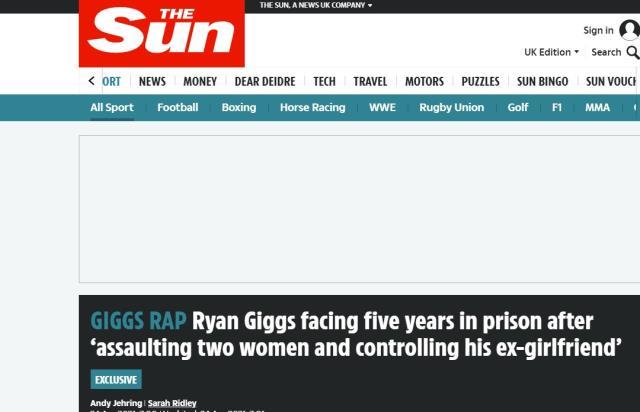 EURO 2020'deki rakibimiz Galler'in hocası Gigs'in, iki kadını alıkoymak ve saldırmak suçundan görevine son verildi