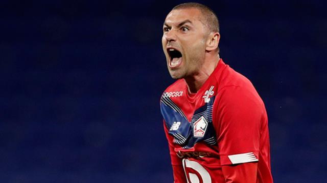 Burak Yılmaz, Cascarino'dan sonra Fransa'da 10 gol barajını aşan 35 yaş üstündeki ilk futbolcu oldu
