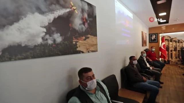 Son dakika haber... İzmir ormanlarının gönüllü ateş savaşçıları eğitimde
