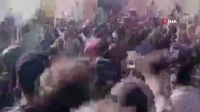 Irak Başbakanı el-Kazımi, ziyaret ettiği Zikar'da protesto edildiGöstericiler konvoyu taşladı