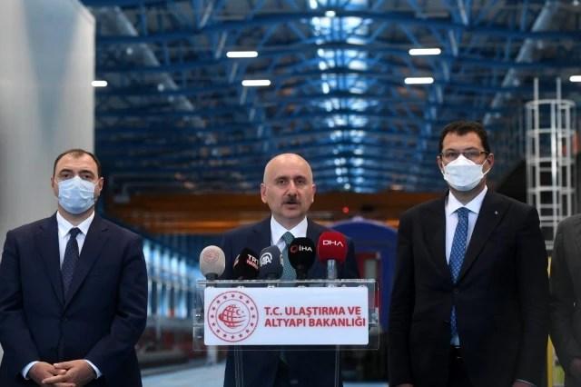 """Bakan Karaismailoğlu: """"160 kilometre hıza ulaşan Milli Elektrikli Treni bu yıl içerisinde milletimizin hizmetine sunacağız"""""""