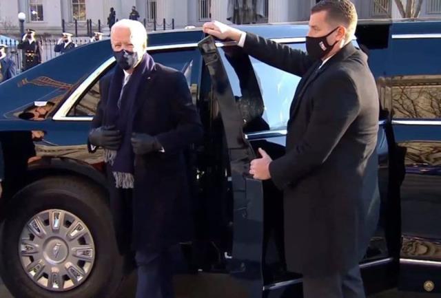 Canavar lakaplı 10 tonluk makam aracı, Biden'a Brüksel ziyaretinde eşlik ediyor