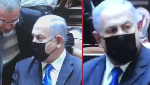 Netanyahu 12 yıl oturduğu başbakanlık koltuğundan uyarılarak kaldırıldı! O anlar büyük ses getirdi