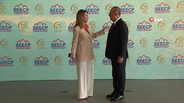Çavuşoğlu, Güney Doğu Avrupa İşbirliği Süreci Dışişleri Bakanları Toplantısı'nın açılışında konuştu Açıklaması