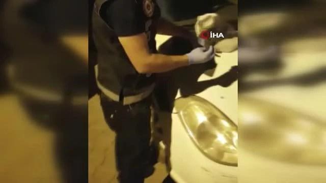 Krem kutusundan uyuşturucu çıktı
