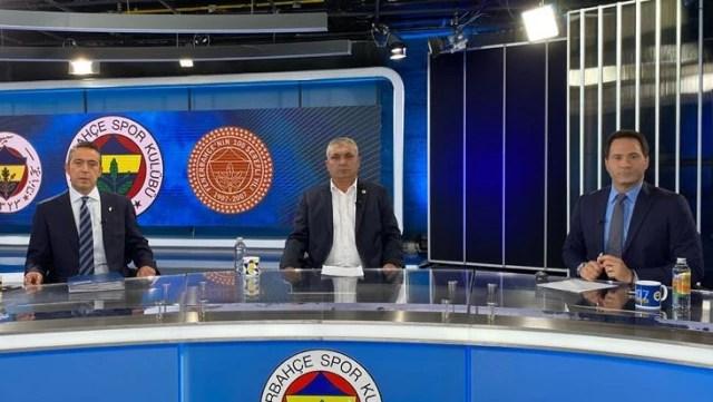 Ali Koç'la yayına çıkan başkan adayı Eyüp Yeşilyurt'tan kulüp üyelerine olay laflar