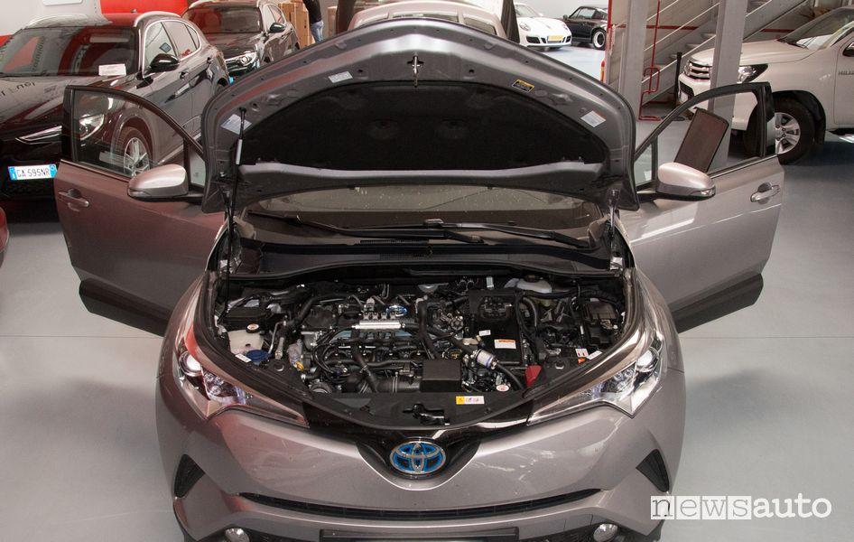 Converting a hybrid car to methane