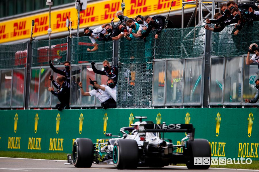 F1 GP Belgium 2021 on the track of Spa-Francorchamps