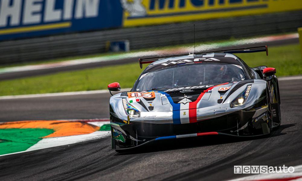 WEC 2021 6 Hours of Monza Ferrari 488 GTE winner in the Pro-Am class
