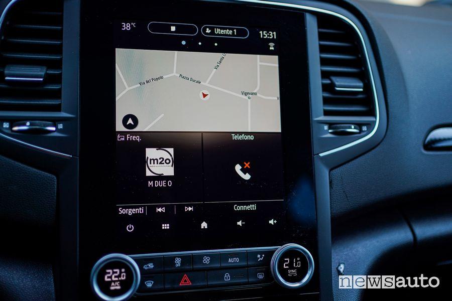 Infotainment Renault Mégane E-Tech Plug-in Hybrid RS Line