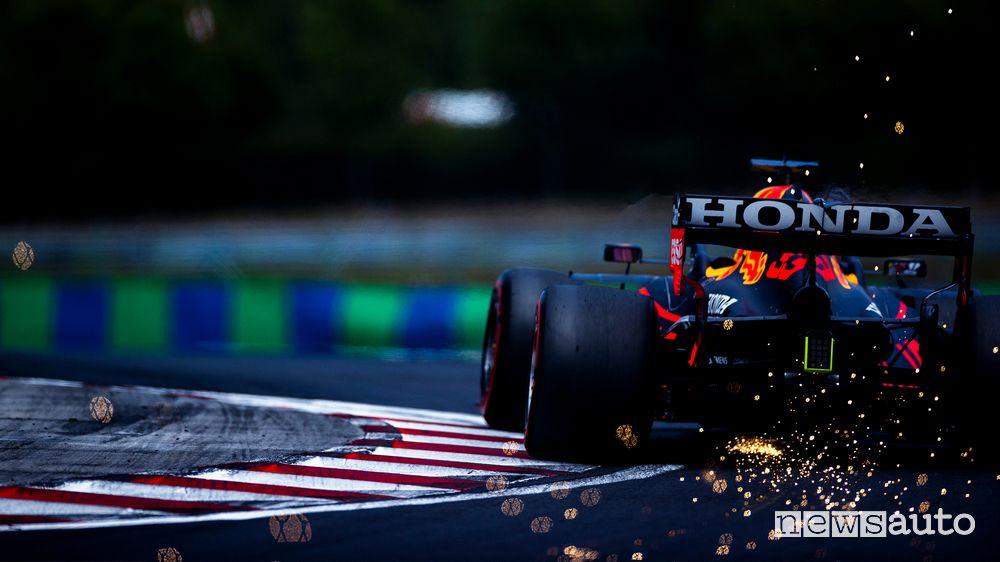 Hungarian GP 2021 Qualifying Red Bull Max Verstappen