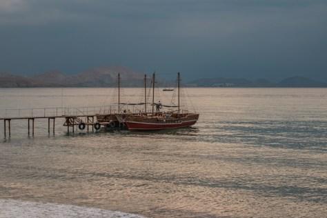 Коктебельский залив на закате. Фото Николая Ефремова
