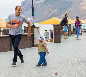 Наш Крым.Коктебель. Люди. Фото Николая Ефремова