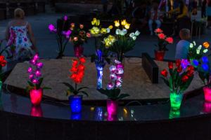 Коктебельская набережная. Вечер. Фото Николая Ефремова