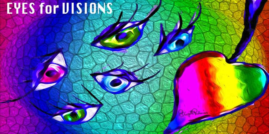Crazy Art by me - EYES for VISIONS
