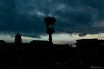 Sky over Buda side, Budapest