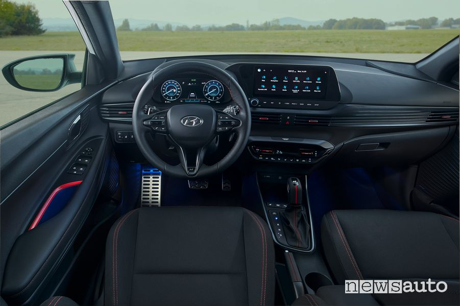 Hyundai i20 N Line cockpit instrument panel