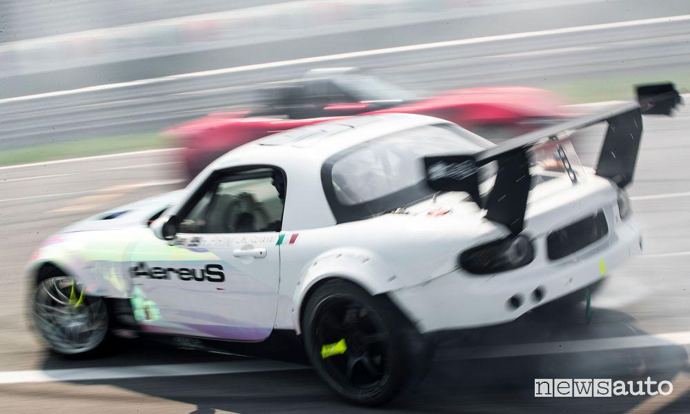 Mazda MX-5 drifting in Monza MiMo 2021