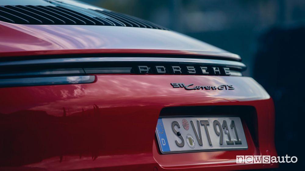 New Porsche 911 Carrera GTS rear bumper