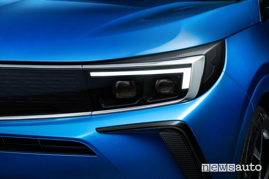 Headlight new Opel Grandland Hybrid4 2022
