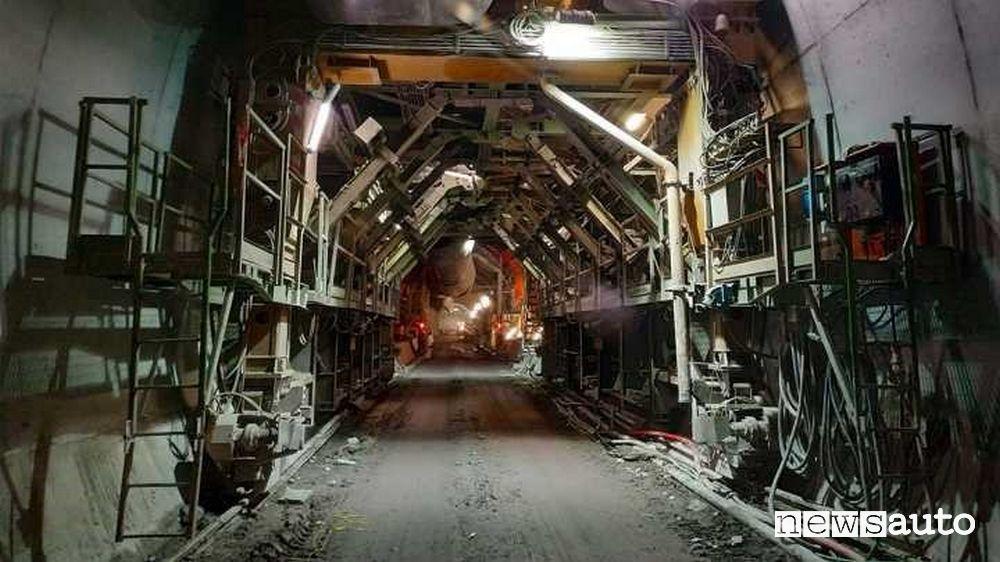 Underground construction works