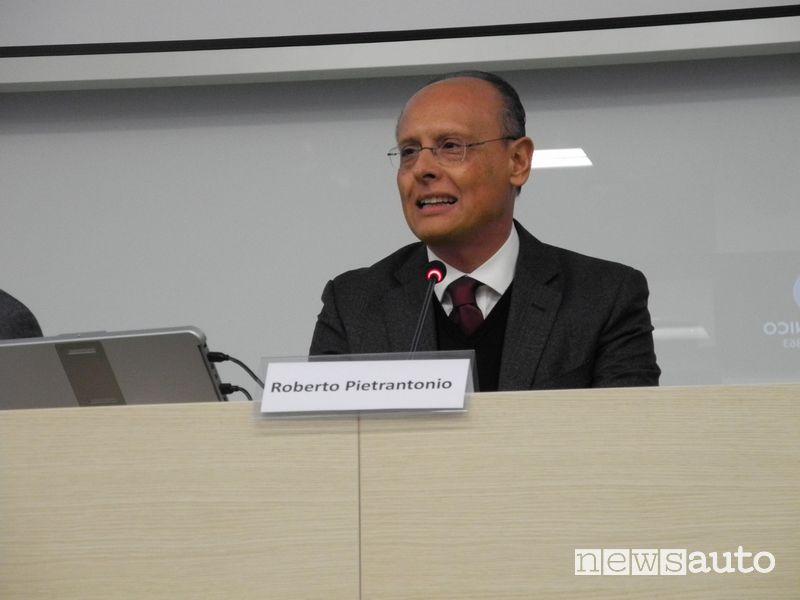 Roberto Pietrantonio CEO of Mazda Italy speech at the Politecnico di Milano conference