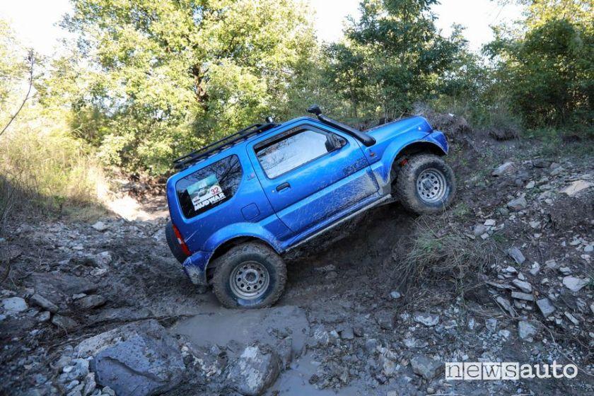 Hard stony variant at the 9th Suzuki 4x4 rally