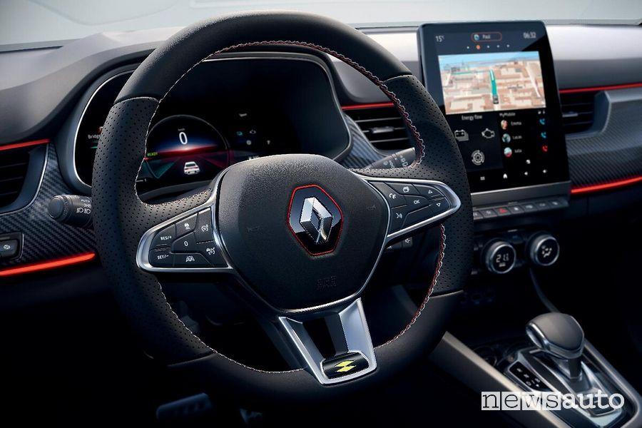 Renault Arkana cockpit steering wheel