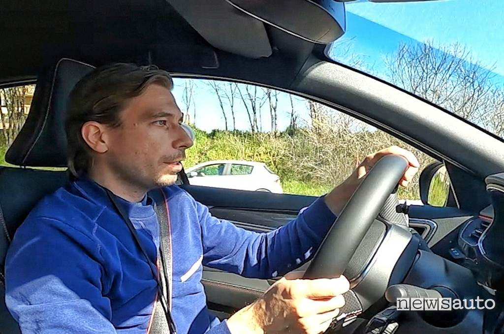 Marco Paternostro Road test Renault E-Tech