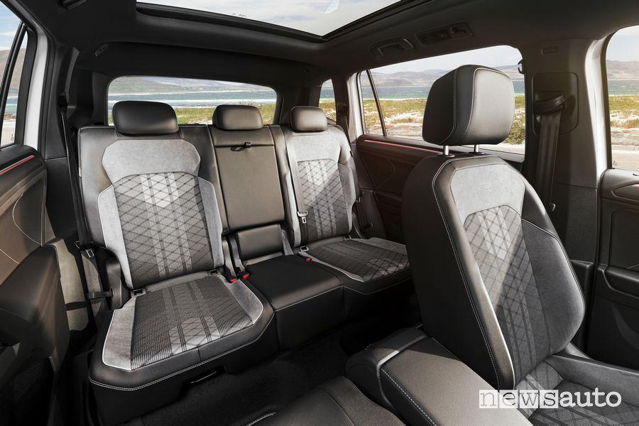 Volkswagen Tiguan Allspace interior rear seats