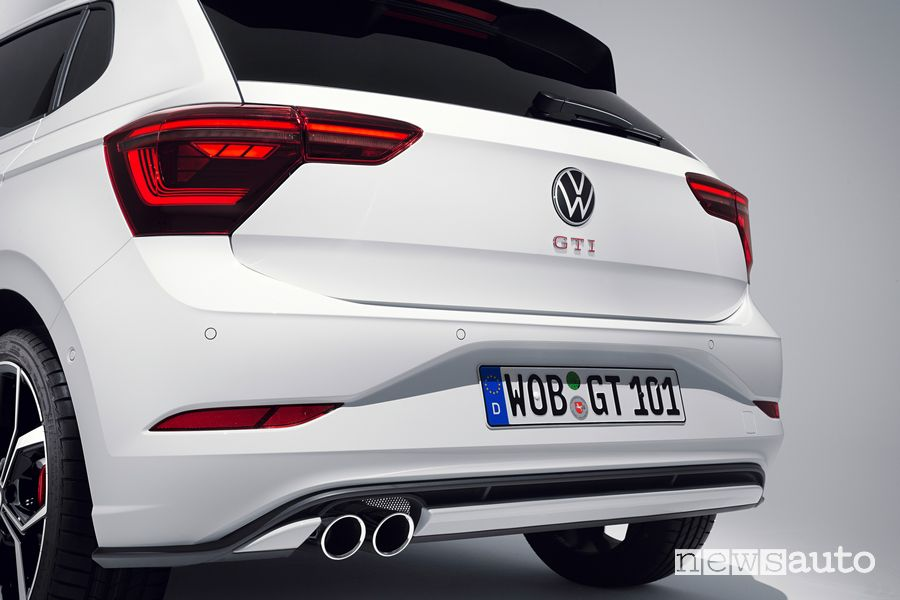 New Volkswagen Polo GTI rear bumper