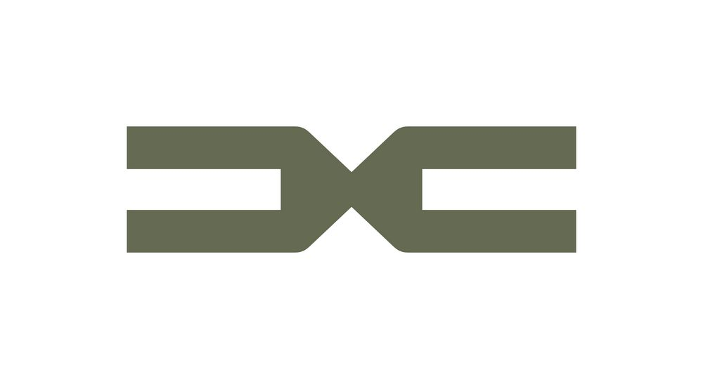New symbol, emblem of Dacia, which represents the meeting of D and C