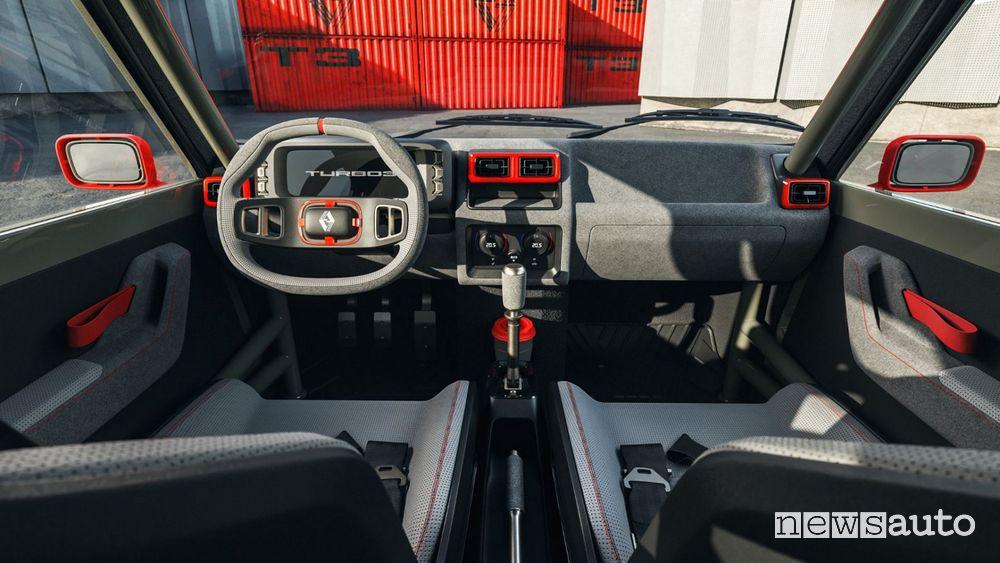 Interior Renault R5 Turbo 3 restomod