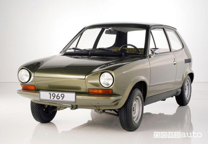 Volkswagen Beetle prototype EA 266 1969