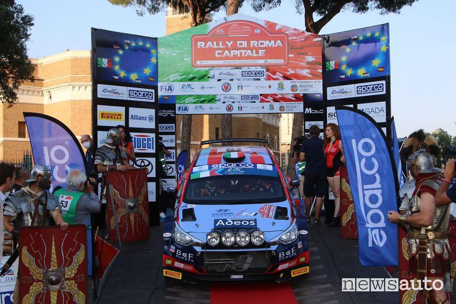 crunola ometto rally roma 2021