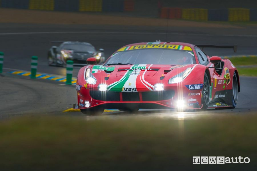 Ferrari won the 2021 24 Hours of Le Mans in the LMGTE Pro and LMGTE Am categories