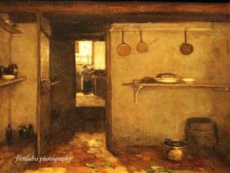 Cellar of the Artist Home in the Hague by Johan Hendrik Weissenbruch