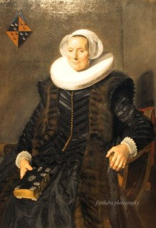 Portrait of Maritge Claesdr Vooght by Frans Hals (1582-1666)
