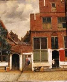 The Little Street by Johannes Vermeer