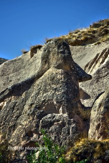Head of Napoleon, Cappadocia, Turkey