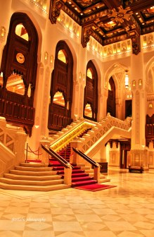 Main Hall of Royal Muscat Opera House.