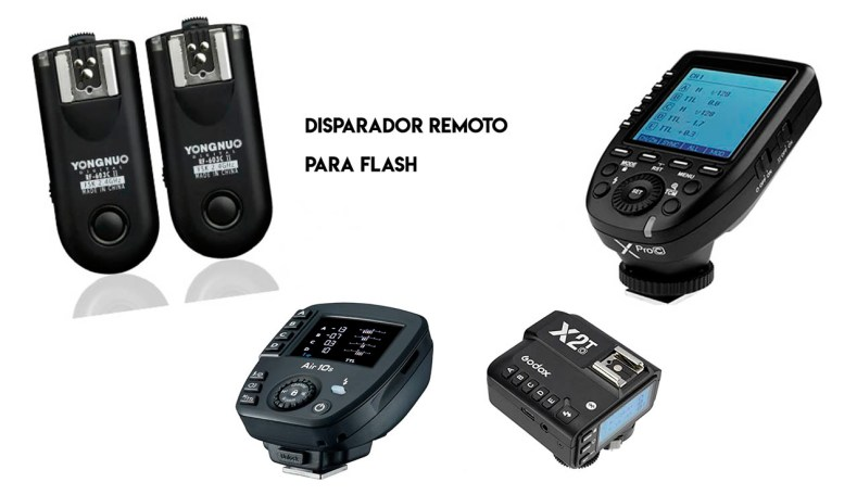 Disparador remoto para flash