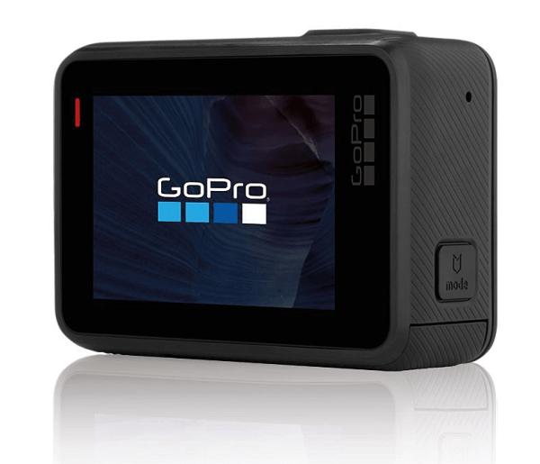 GoPro Hero 5 Black har stor touchskärm