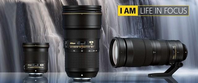 3 nya objektiv från Nikon