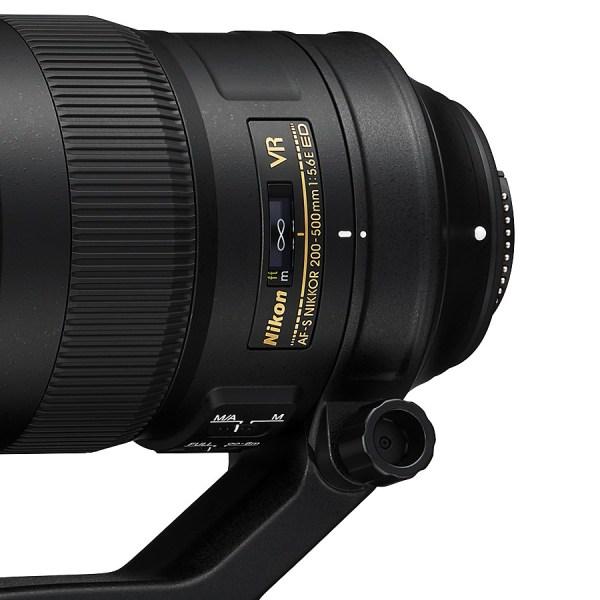 AF-S NIKKOR 200-500mm f/5,6E ED VR