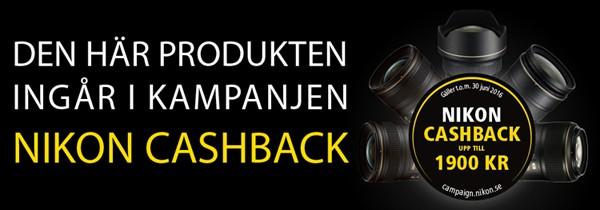Nikon Cashback vår/sommar 2016