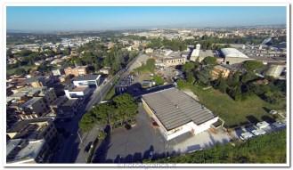 Roma, foto con drone multirotore