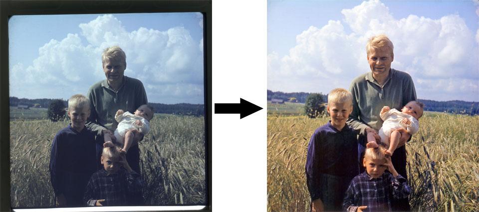 retusoitu kuva esimerkki